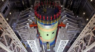 The SLS core interstage