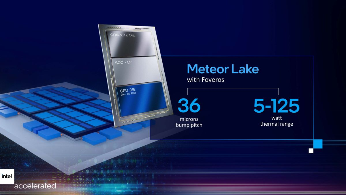 Intel Teases 14th-Gen Meteor Lake CPUs With Tile Design and 192 EUs
