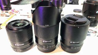 Viltrox 23mm f/1.4, 33mm f/1.4 & 56mm f/1.4 AF lenses
