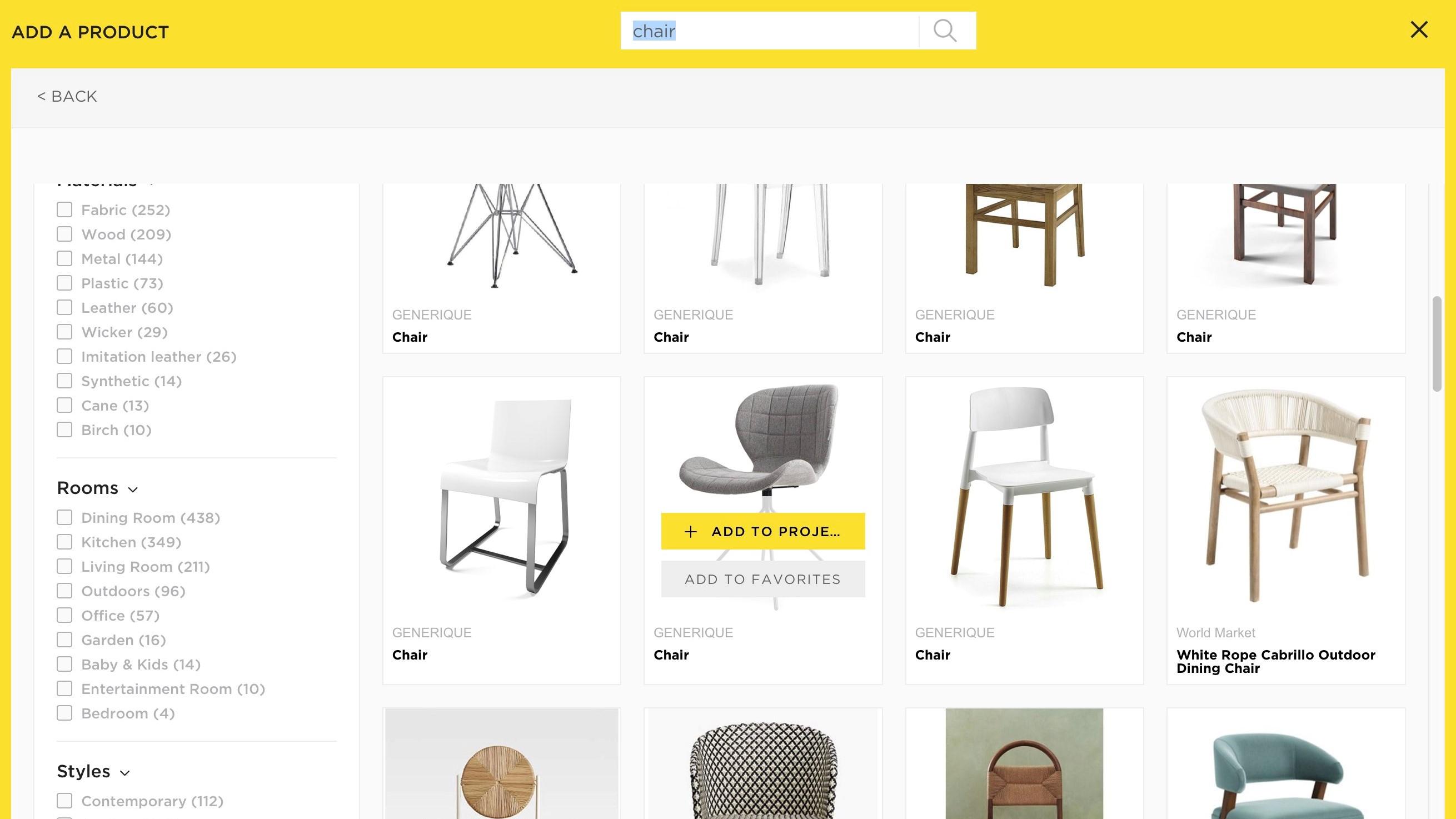 Choose a Chair
