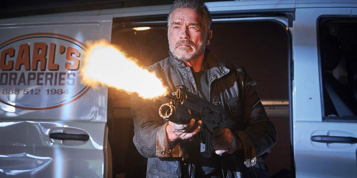 Arnold Schwartznegger in Terminator: Dark Fate