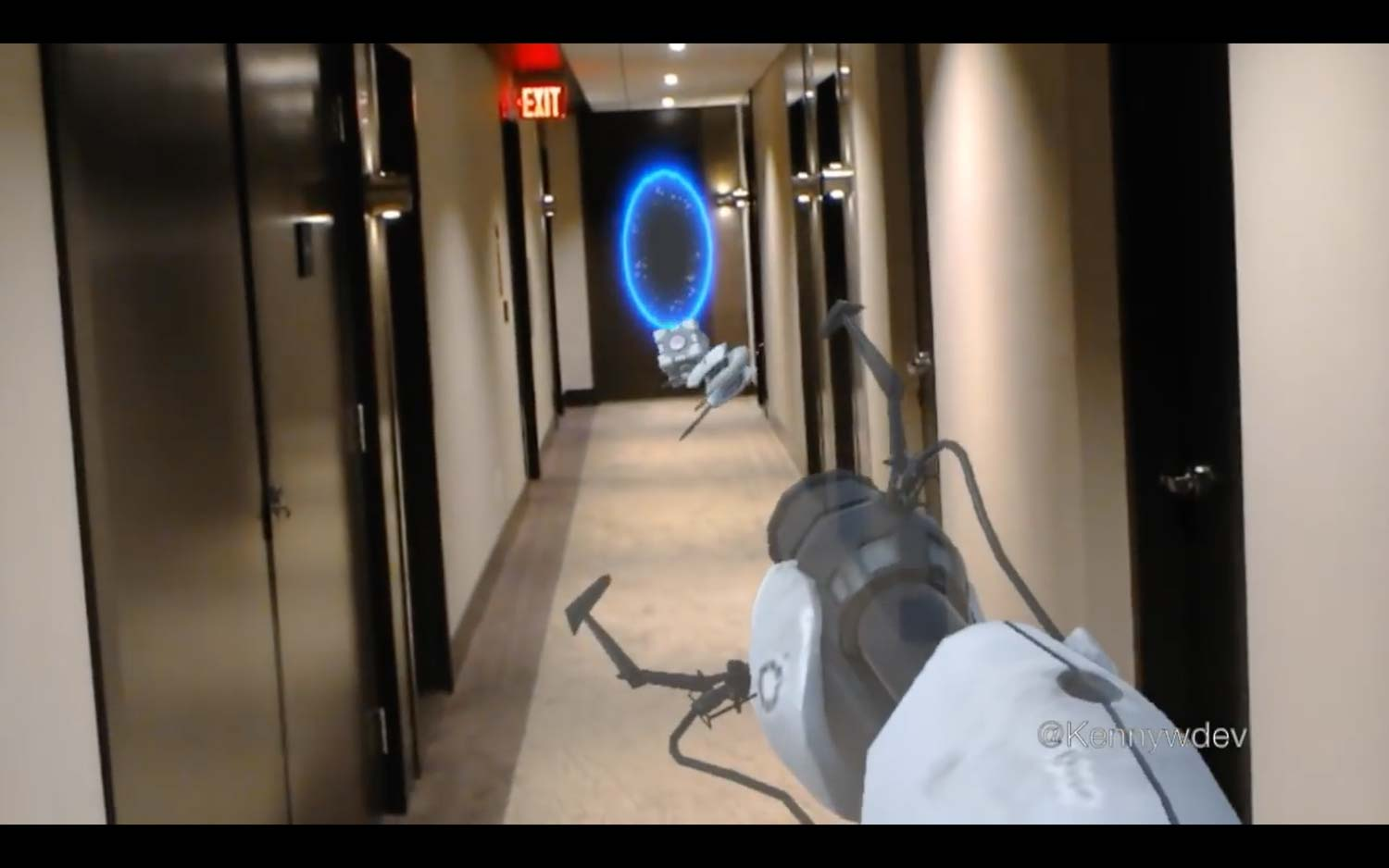 Watch This Awesome Portal Demo on Microsoft's HoloLens