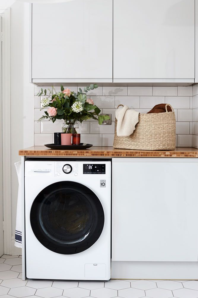 Introducing the washing machine that cares for your clothes and the planet