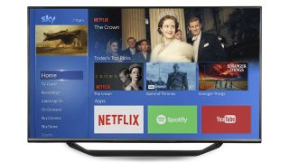 Sky TV Black Friday deal: Free LG 4K TV with Sky Q bundle