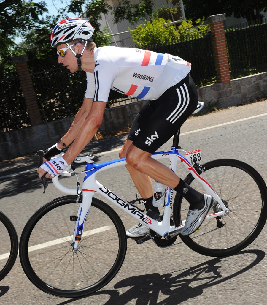 Bradley Wiggins, Vuelta a Espana 2011, stage eight