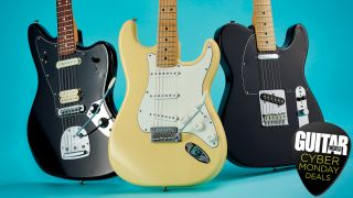 Cyber Monday guitar deals: Fender Player Series electric guitars