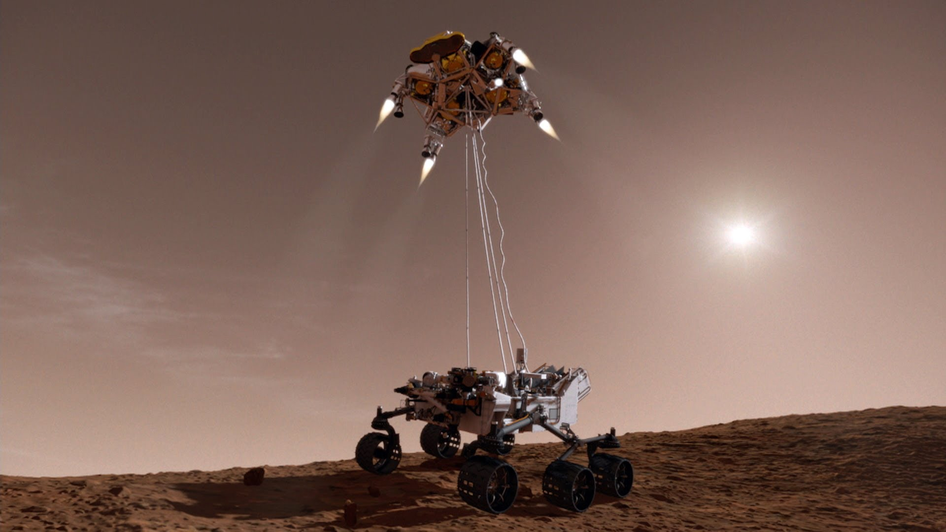 Parachutes, Sky Cranes and More: 5 Ways To Land On Mars | Space