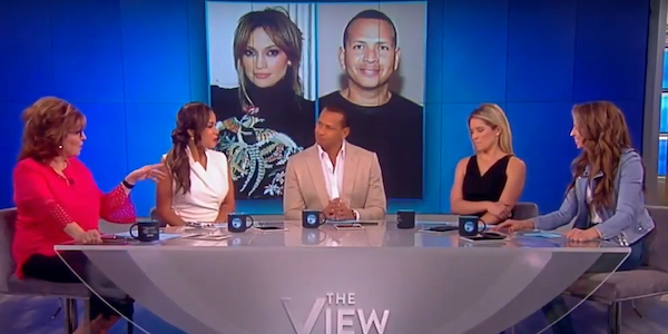 alex rodriguez on the view abc