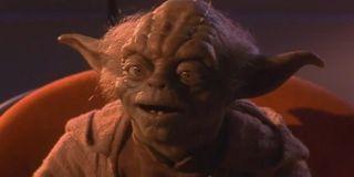 Yoda in Phantom Menace