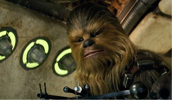 Chewbacca the force awakens