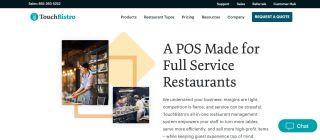 TouchBistro POS system for restaurants