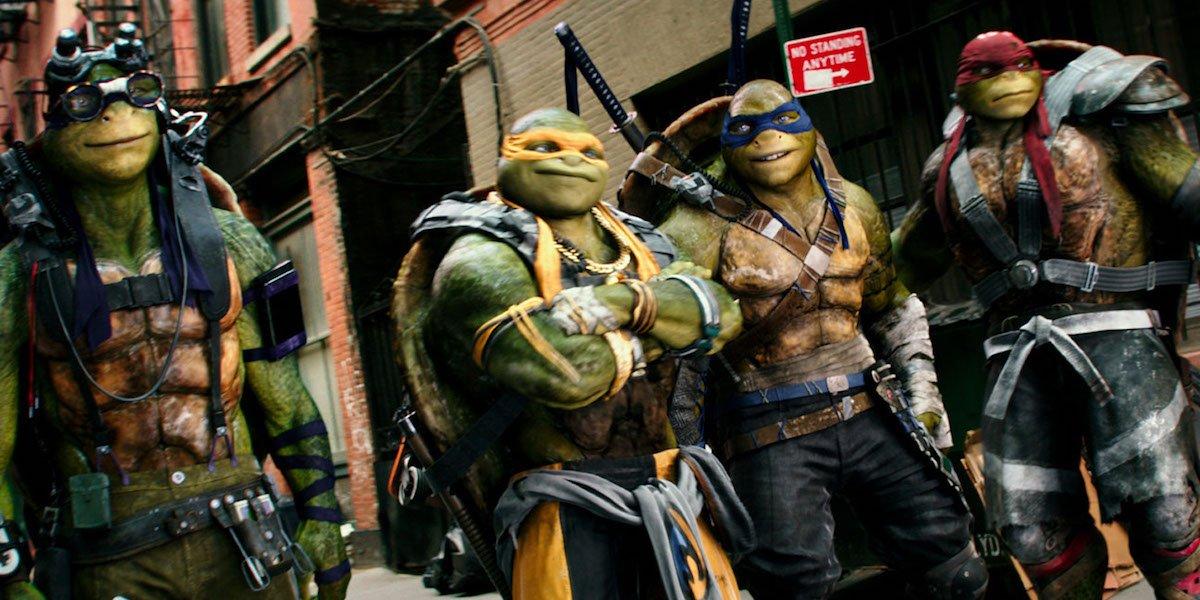 Teenage MutantNinja Turtles in Out of the Shadows