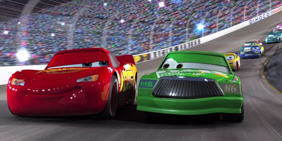 Lightning McQueen and Chick Hicks