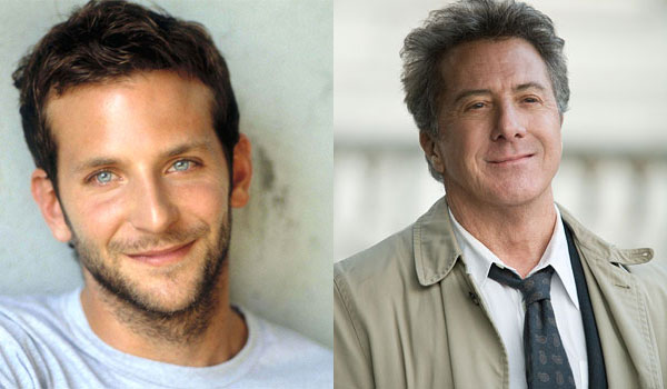 Bradley Cooper and Dustin Hoffman