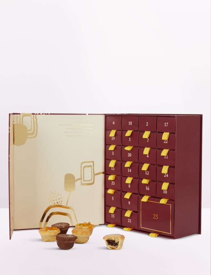 Selfridges have unveiled their advent calendar for mince pie lovers