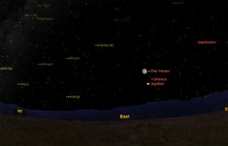See Jupiter and the Moon: 6 Degrees of Separation