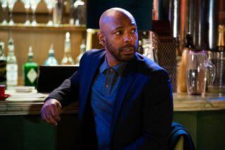 Lucas Johnson waits for Karen Taylor in EastEnders