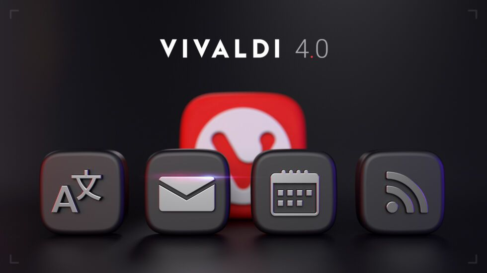 Vivaldi 4.0 browser comes with built-in email