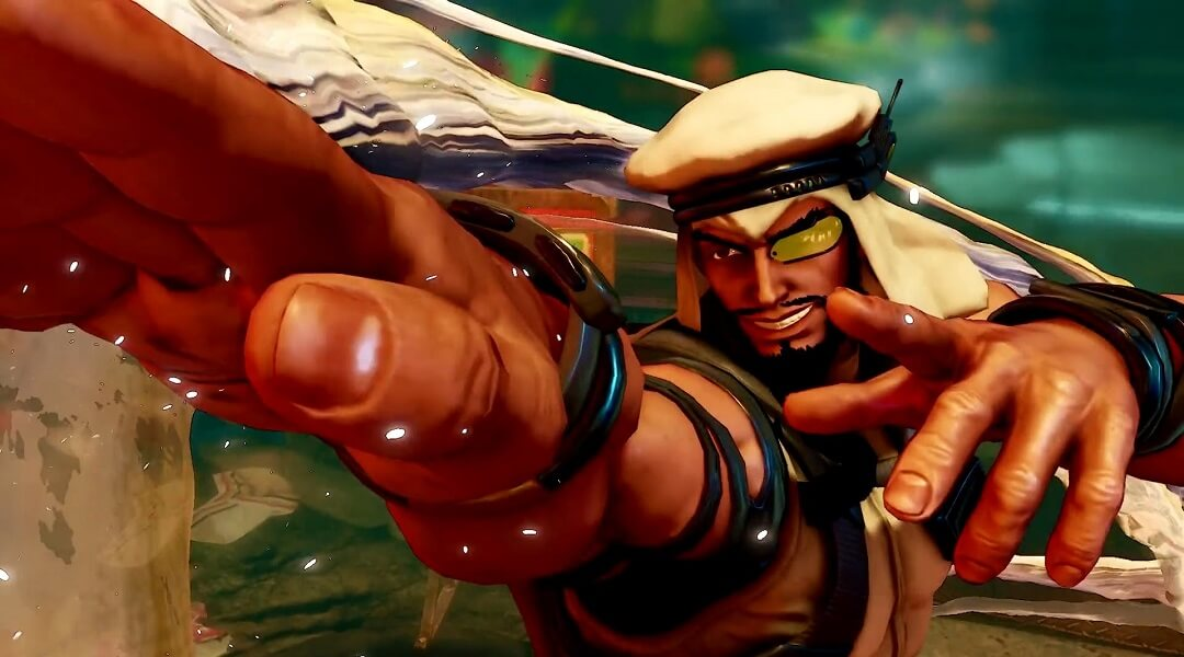Street Fighter 5 Trailer Introduces New Character Rashid Pc Gamer