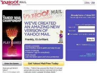 Yahoo combines webmail and chat services | TechRadar