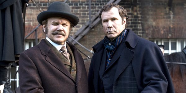 John C. Reilly and Will Ferrell of Holmes and Watson