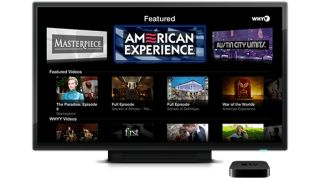 Apple TV Yahoo Screena and PBS apps