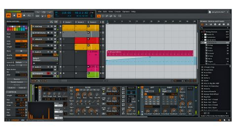 Being able to have the Clip Launcher in the same window as the Arranger is one of Bitwig Studio's best features.