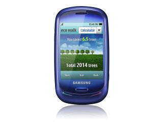 Samsung's Blue Earth handset