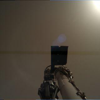 InSight Mars image
