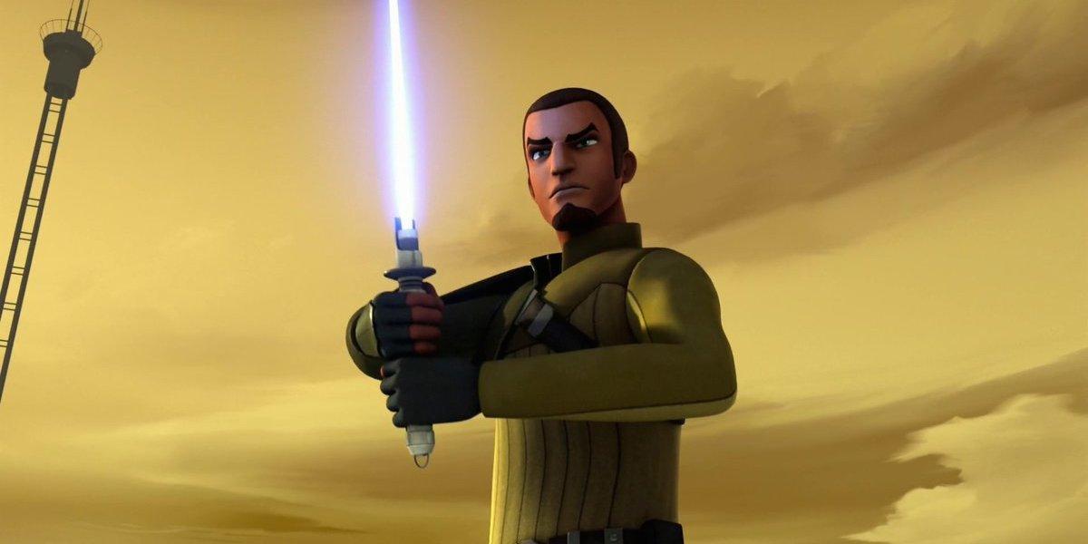 Kanan Jarrus on Star Wars Rebels
