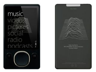 Joy Division Zune a tribute to authentic art