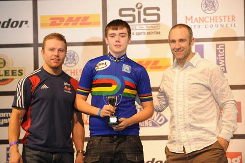Luke Boulton, DHL Sprint School winner, Jan 2010, Revolution 27