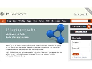 The government hands over its data
