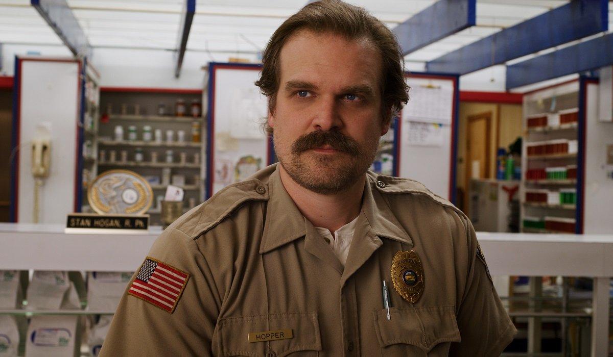 Hopper Stranger Things Netflix