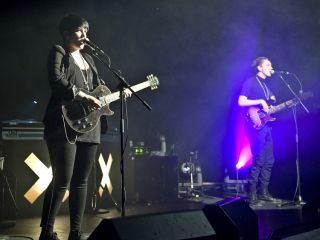 The XX on stage earlier this year.