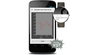 Don't ask us how we know, but we think that watch is sending data to the VST plugin.