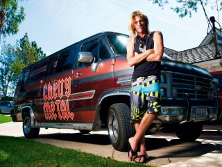Taylor Hawkins, one of many drum icons featured on Be The Bird