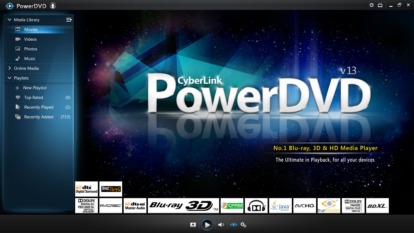 Blu-ray Software