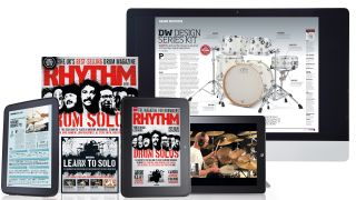 Get 2013 issues of Rhythm for half price on your iPad