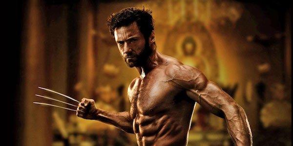 Hugh Jackman shirt off in The Wolverine