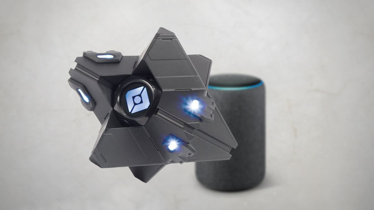 For $10, Activision is basically giving away the Alexa-compatible Destiny 2 Ghost speaker