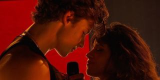Shawn Mendes and Camila Cabello at AMA live performance Senorita,