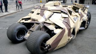 The technology of the Tumbler - how Britain made the Dark Night mobile