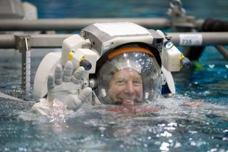 Tweeting Astronaut Moves In At Space Station
