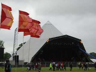 Expect rain at Glastonbury. Lots of it.