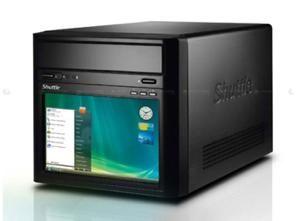 Shuttle's new bedside-friendly PC