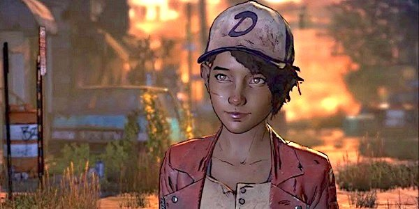 Clementine from The Walking Dead.