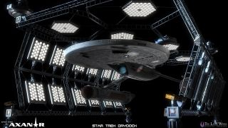 'Star Trek: Prelude to Axanar' Federation Starship Drydock