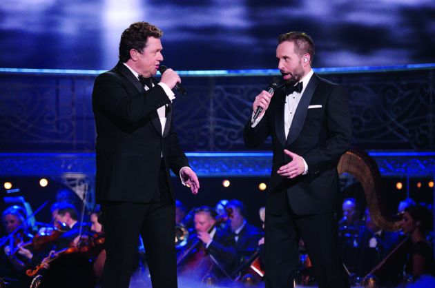 Vocal maestros Michael Ball and Alfie Boe join forces for a special evening