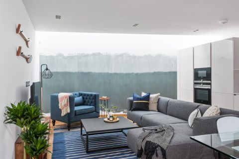 11 Blue And Grey Living Room Ideas To, Gray Blue Living Room